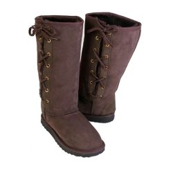Long Side Lace Up Ugg Boots