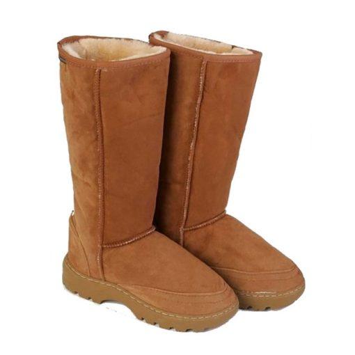 Long Tough Sole Boots
