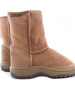 Short Tough Sole Boots
